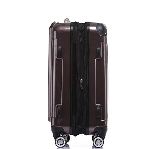 Beibye Zwillingsrollen 2048 Hartschale Trolley Koffer Reisekoffer In M L Xl Set In 15 Farben 0 11