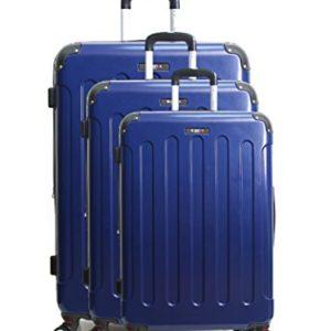 Blue Star Tunis Koffer Set 72 Cm 210 Liters Blau Bleu Marine 0