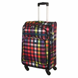 Franky 4 Rollen Trolley T1 Spinner M Multicolor Check 0