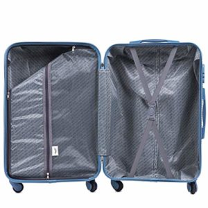 Vinci Luggage Gerumiger Kabinentrolley Leichter Flugzeugkoffer Luxuriser Und Moderner Koffer Mit Zweistufigen Teleskopgriff Und Kombinationsschloss 0 19