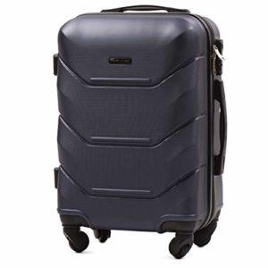 Vinci Luggage Gerumiger Kabinentrolley Leichter Flugzeugkoffer Luxuriser Und Moderner Koffer Mit Zweistufigen Teleskopgriff Und Kombinationsschloss 0
