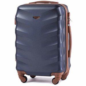 Wings Luggage Gerumiger Kabinentrolley Leichter Flugzeugkoffer Luxuriser Und Moderner Koffer Mit Zweistufigen Teleskopgriff Und Kombinationsschloss 0
